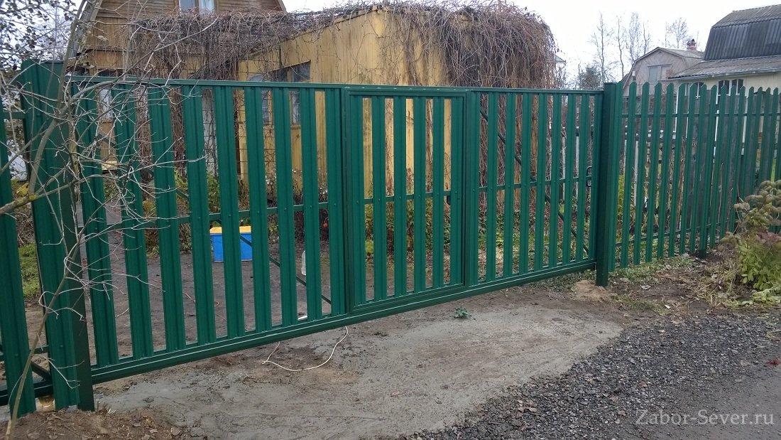 Ворота раздвижные дмитров розсувн ворота