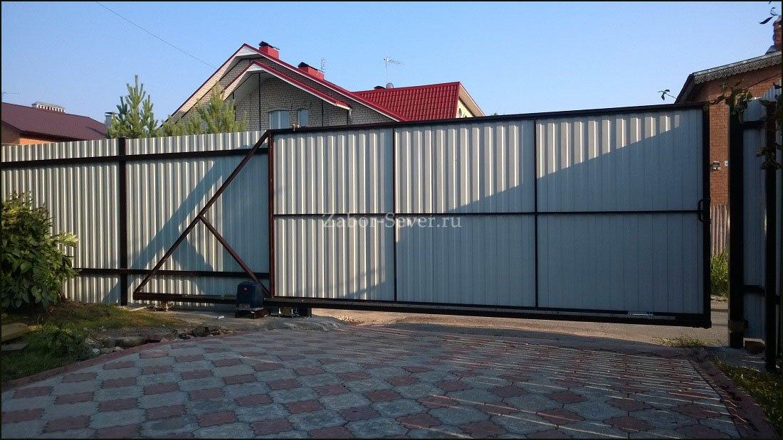 Откатные ворота ролик в Щелково